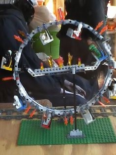 lego halloween feris wheel - Lego Halloween Train