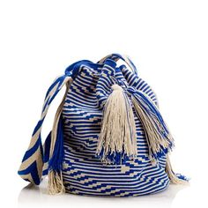 Mochilla Bag From Colombia. Beach Bag Essentials, Mochila Crochet, Boho Bags, Tapestry Crochet, Tapestry Bag, Fashion Bags, Bucket Bag, Purses And Bags, Women Accessories