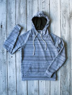 The Howland Hoodie is the classic grey hooded pullover with all those little bicycle parts. Let's just repair that flat tyre!
