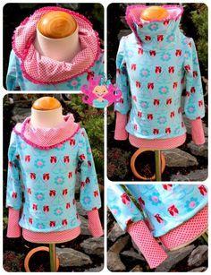 Ebook Lola ♥ Kragenhoodie Drawstring Backpack, Sewing, Baby, Style, Fashion, Fashion For Girls, Girls Dresses, Kawaii Drawings, Dressmaking