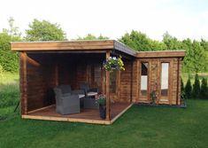 Summer House Garden, Home And Garden, Building An Outhouse, Gazebo, Pergola, Outdoor Sauna, Backyard Sheds, Garden Studio, Container Shop