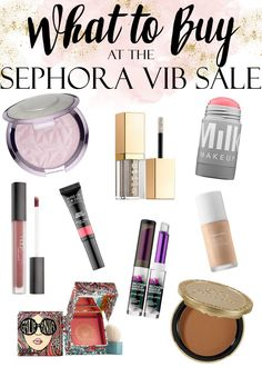 Sephora VIB Sale Makeup Shopping