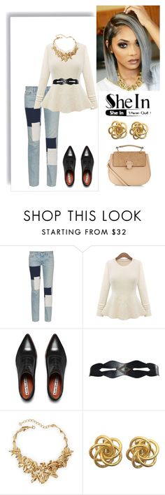 """""""Sexy yet Simple"""" by mfernandez-i on Polyvore featuring Simon Miller, Acne Studios, Oscar de la Renta and Accessorize"""