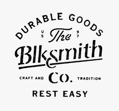 BLKSMITH CO.