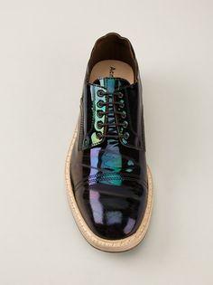 ACNE - Askin Oil derby shoe