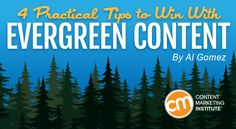 With hot lists and trending news dominating social media feeds, there are several great reasons why you should go for evergreen – Content Marketing Institute