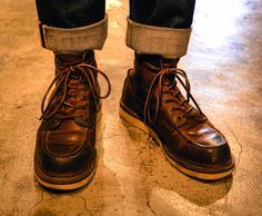 "Red Wing 6"" inch Moc Toe #1907 Used 