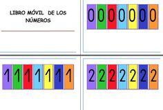 Trabajamos los números con el LIBRO MÓVIL DE LOS NÚMEROS - Orientacion Andujar