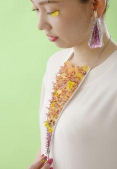 Я Yoko Kawamoto шаг8 Halskette und Ohrringe für Anleitung aufs Bild klicken.