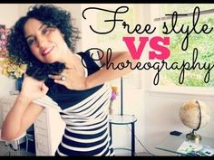 Belly Talk - Free style versus choreography ~ Free belly dance classes online