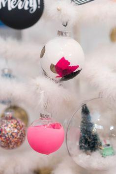 10 Cute Ways to Transform a Clear Glass Ornament