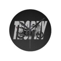 2013 Trophy SE Round Clock