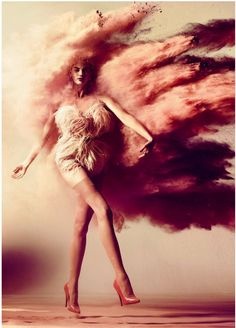 Explosion #fashion  #photography What a vision - Metro Photography thinks that this image is SO powerful