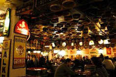 Delirium Cafe, Brussels is an experience.  One of the best bars in the world, Delirium holds the guinness world record with close to 2004 beer variety served... #Fav Travel #Pubs   #Fav Places