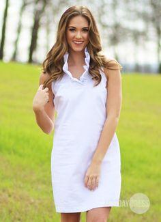Sweetest Devotion Dress in White | Monday Dress Boutique