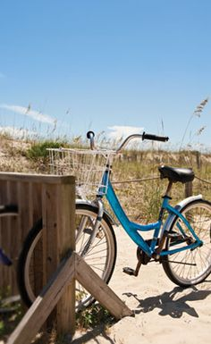 One of the most enjoyable things to do in Caswell Beach is go for a bike ride.