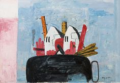 Philip Guston is the man in so many ways.
