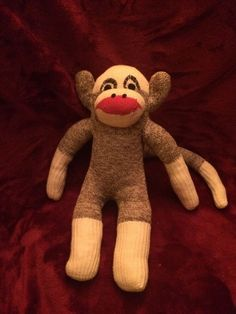 Old sock monkey purchased at estate sale age unknown size is 14 inches. Mailed in new bubble envelope with tracking. Offers considered not always accepted.