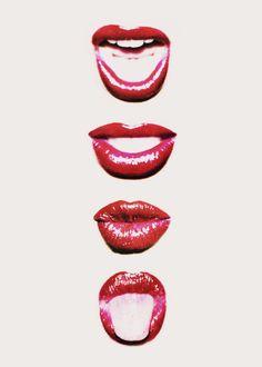Lips www.bibleforfashion.com #bibleforfashion