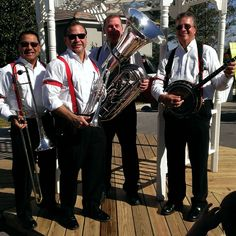 Jammin' Jambalaya Brass Band from Orlando Florida is a 3 to 8 pic. New Orleans style second  line band.  Mobile or stationary. For Mardi Gras theme parties, private events, weddings and more. Fully insured. Mardigrasbandorlando.com