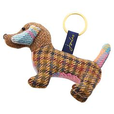 This cute little dashund keyring from Joules is a great little gift for a dog loving Mum1
