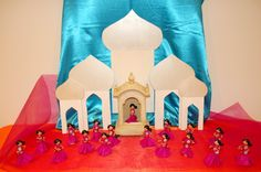 Bollywood Party Decorations | restlessrisa: Indian / Bollywood Party - Part 3 {Princess Beds and Taj ...