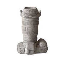 Buy Seletti Concrete Camera Pot - Design 2 | Amara