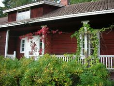 Old Finnish house in the countryside