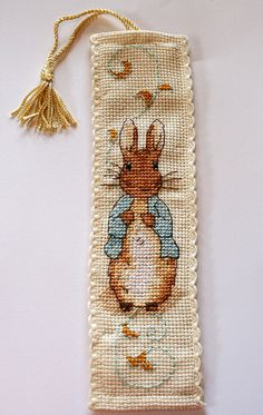 Peter Rabbit bookmark!...could someone make this for me???? <3