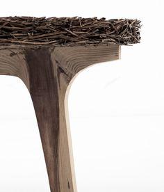 Pine collection mobilier aiguilles de pin par Samuel Reis