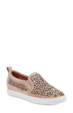 Free shipping and returns on Caslon® Eden 2 Perforated Platform Sneaker (Women) at Nordstrom.com. Chic perforations add breathability and distinctive texture to an out-of-the-ordinary sneaker set on a bright white cupsole.