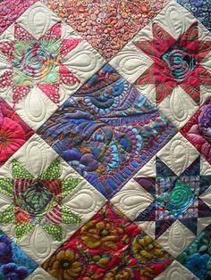 Quilting Tutorials, Quilting Designs, Quilting Ideas, Crumb Quilt, Star Quilts, Quilt Blocks, Fat Quarter Quilt, Applique Quilt Patterns, Half Square Triangle Quilts