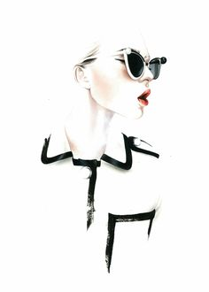 'Chanel SS2013'. Giclée Konsttryck av António Soares