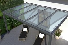 Terrassenüberdachungen Aus Metall Und Glas ~ Pergola aus metall inspirierende beispiele und ideen