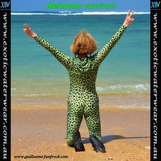 With the sweltering heat wave hitting us right now, here's a timely blog: www.exoticwaterwear.com.au/blog/the-answer-and-the-question/    Buy colourful stinger suits, burkinis, lycra suits online in bold exotic prints & patterns, UV sun protection UPF50+ with matching bikinis and sundresses for all watersports – UV sun protection swimwear!