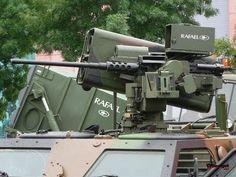 Photo Military Jeep, Military Weapons, Military Vehicles, Heavy Machine Gun, War Machine, Gun Turret, Sci Fi Weapons, Big Guns, Military Equipment
