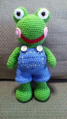 Frog ~ pattern by Sharon Ojala