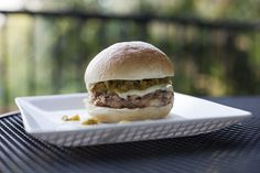 #Green Chili Chicken Burgers    http://tracksandloops.weebly.com/