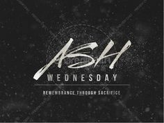 Ash Wednesday Remembrance Ministry PowerPoint Lenten Season, Ash Wednesday, Church Design, Youth Ministry, Christian, Graphic Design, Amen, Fonts, Create