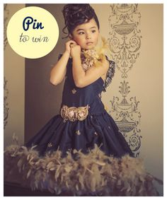 Tout Mon Amour » Blog Archive » Win A Girls Couture Design ~ Pin It to Win It! wow love this