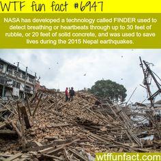 NASA's FINDER technology - WTF fun fact