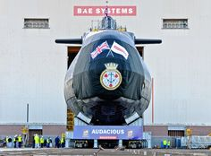 Fourth British Astute-class attack submarine Audacious launched | Military and Commercial Technology