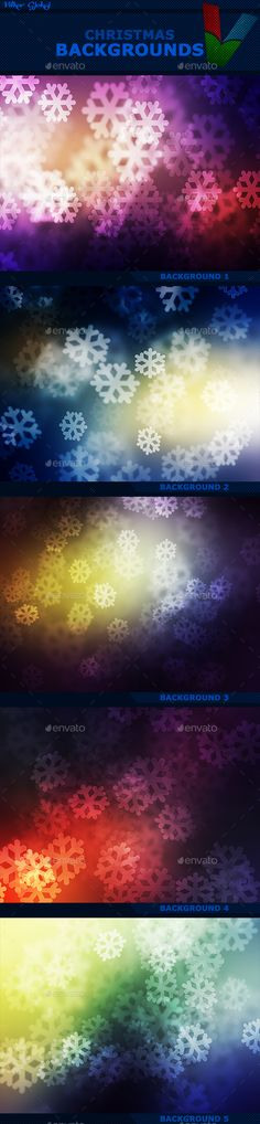 Christmas Backgrounds — JPG Image #light #wallpaper • Available here → https://graphicriver.net/item/christmas-backgrounds/13822236?ref=pxcr
