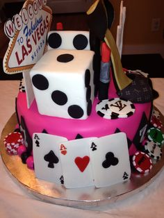 Las Vegas Diva cake Devyne Delights by Princess Pinterest Diva