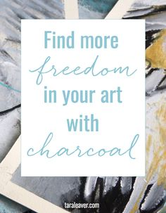 If you're wanting to free up your art and be bold and expressive, charcoal is a great tool. Here's a sneak peek into the new Expressive Charcoal course.