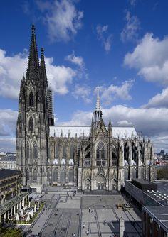 Kölner Dom, Südseite ©KölnTourismus GmbH, Axel Schulten