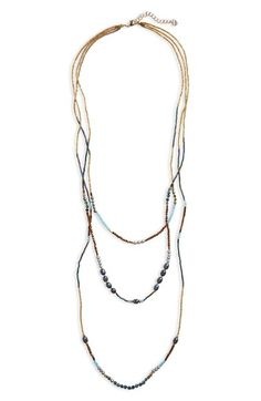 Nakamol Design - Beaded Tiered Necklace 64.90