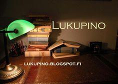 Lukupino.blogspot.fi blogi lukemisesta.