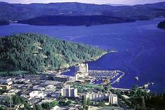 Coeur D Alene, ID.  This is also close to where we are moving this summer.  It is a little sad to leave our family behind but looking at how beautiful it is there makes it a little easier.