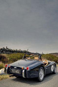 1958 Triumph TR3A (rear view)
